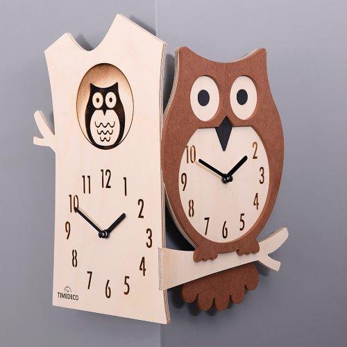 Owl Corner Clock(부엉이)