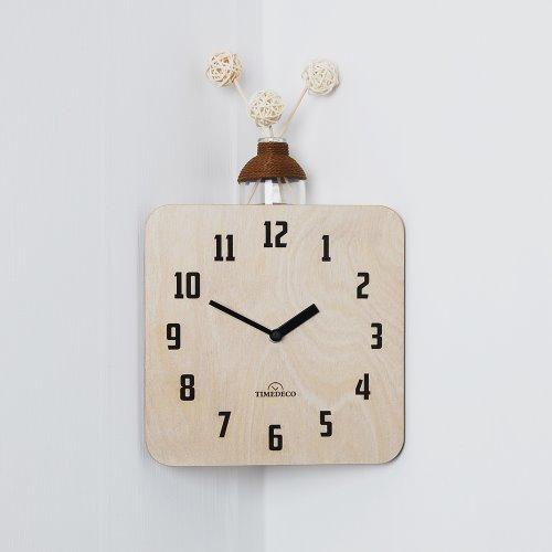 In corner(Natural) Clock