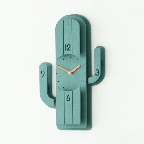 선인장 벽시계(Cactus Clock)