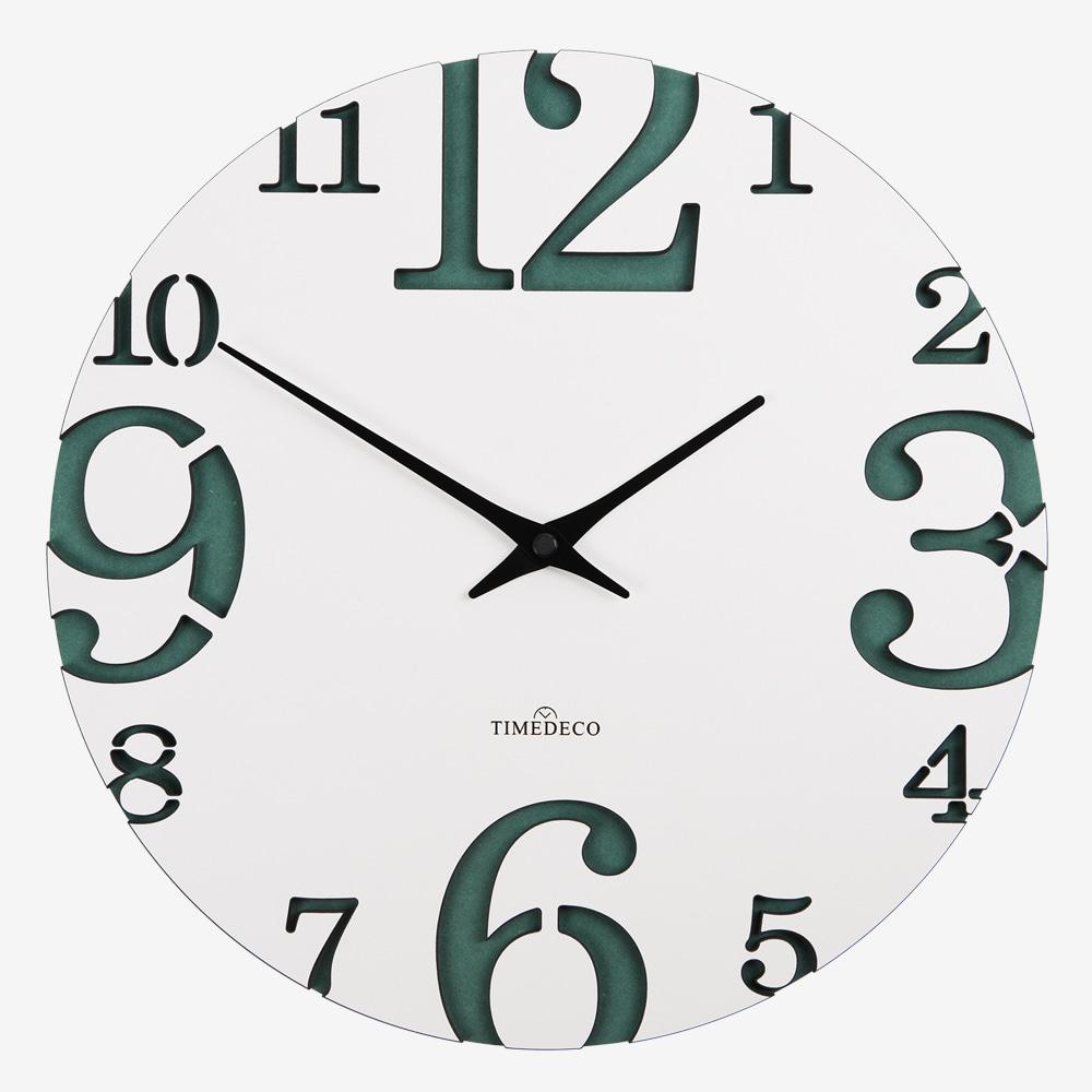 빅&스몰 넘버 벽시계 (Big & Small Number Clock)